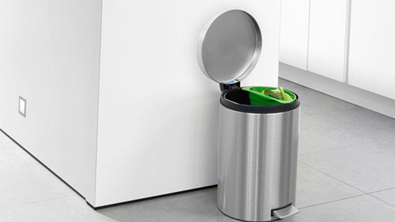phong thủy cho thùng rác