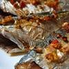 Cá bạc má nướng tỏi ớt