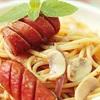 Spaghetti xúc xích