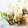 Cá cuộn nấm nướng sốt chanh dây