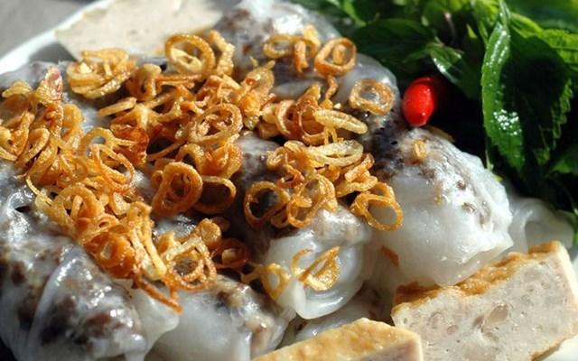 Cách làm bánh cuốn nhân thịt nấm
