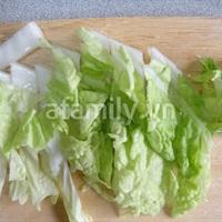Canh cải thảo mới lạ ngon cơm