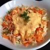Salad bắp cải cà rốt sốt quýt