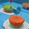 Cupcake cầu vồng rực rỡ sắc màu cho bé yêu