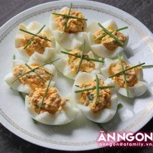Trứng mimosa - món khai vị hấp dẫn