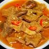 Bao tử heo nấu ngũ vị hương