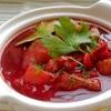 Soup củ dền đỏ