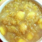 Cách nấu chè đậu hạt sen