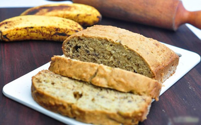 Cách làm bánh mì chuối