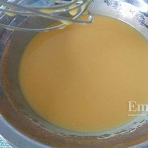 Bánh crepe chuối ngào đường