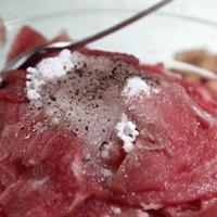 Gỏi rau càng cua trộn thịt bò