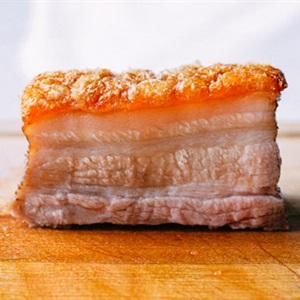 Thịt heo quay da giòn