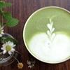 Matcha latte nóng