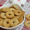Bánh quy mè vòng
