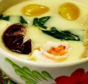 Trứng hấp kiểu Nhật Bản