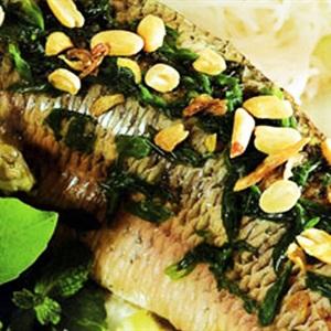 Cá lóc hấp nước cốt dừa