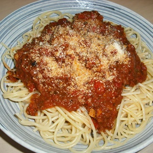 Spaghetti thịt viên