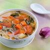 Soup rong biển nấu rau cải