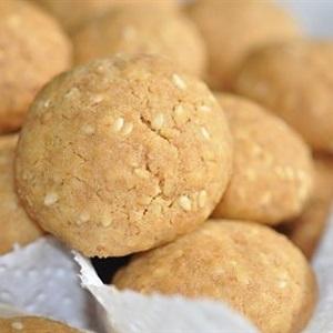 Bánh cookies mè