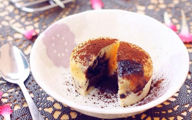 Cách làm bánh lava cupcake