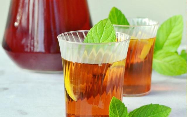 Cách làm trà chanh vị bạc hà