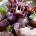 Canh mực nấu đậu hũ