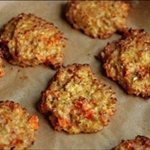 Bánh cookies súp lơ và cà rốt