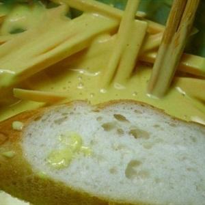 Bánh mì chiên khoai và tôm