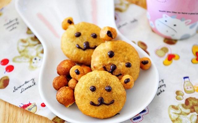 Cách làm bánh cookies gấu