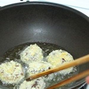 Nấm nhồi thịt chiên xù