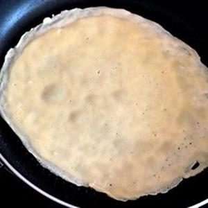 Bánh crepe táo