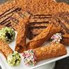 Bánh quy hạnh nhân tẩm hạt dẻ