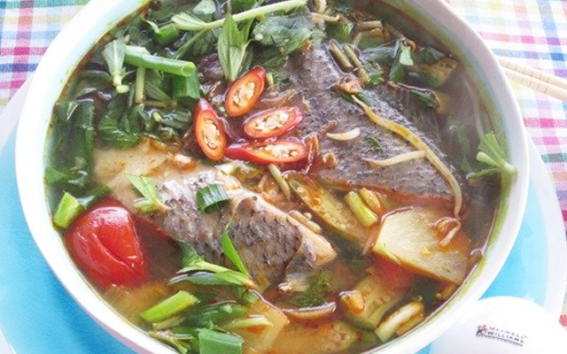 Cách làm canh cá bông lau nấu chua