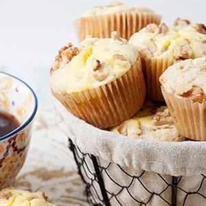Muffin chuối kem phô mai