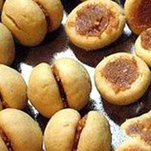 Bánh cookies trái đào
