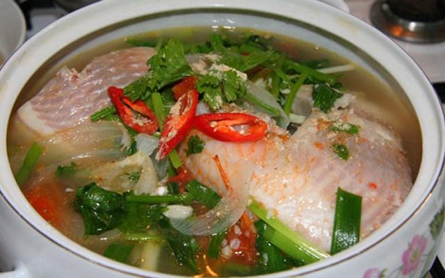 Cách làm canh cá diêu hồng nấu ngót