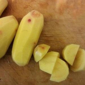 Vịt kho khoai tây và cà tím