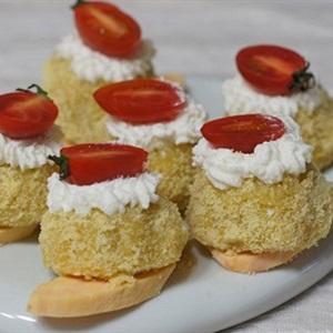 Bánh bông lan khoai lang