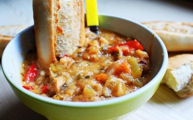 Cách nấu súp gà rau củ
