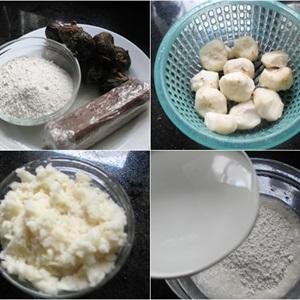 Bánh củ năng nấu đường phèn