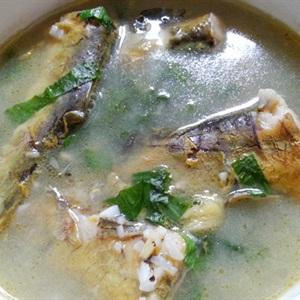 Canh cá bò nấu mẻ