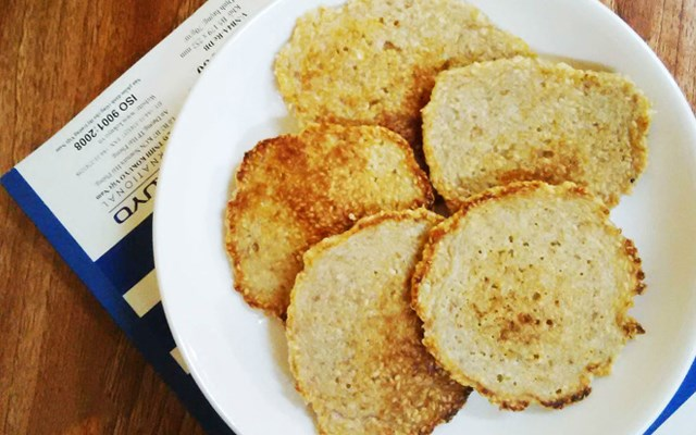 Cách làm bánh mè rán