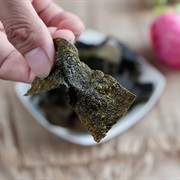 Cách làm snack rong biển chiên giòn