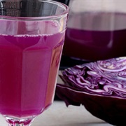 Cách làm nước ép lê bắp cải tím