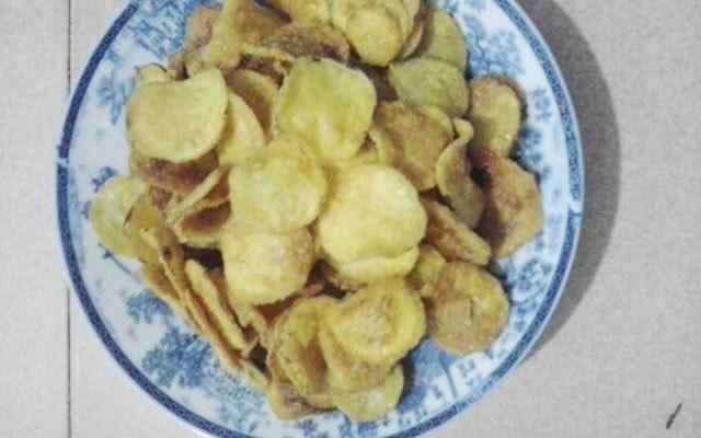 Cách làm snack khoai lang vàng