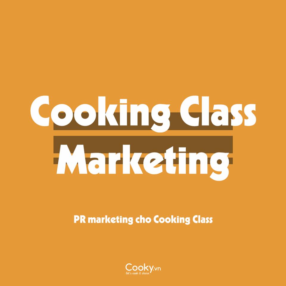 Cooking Class Marketing
