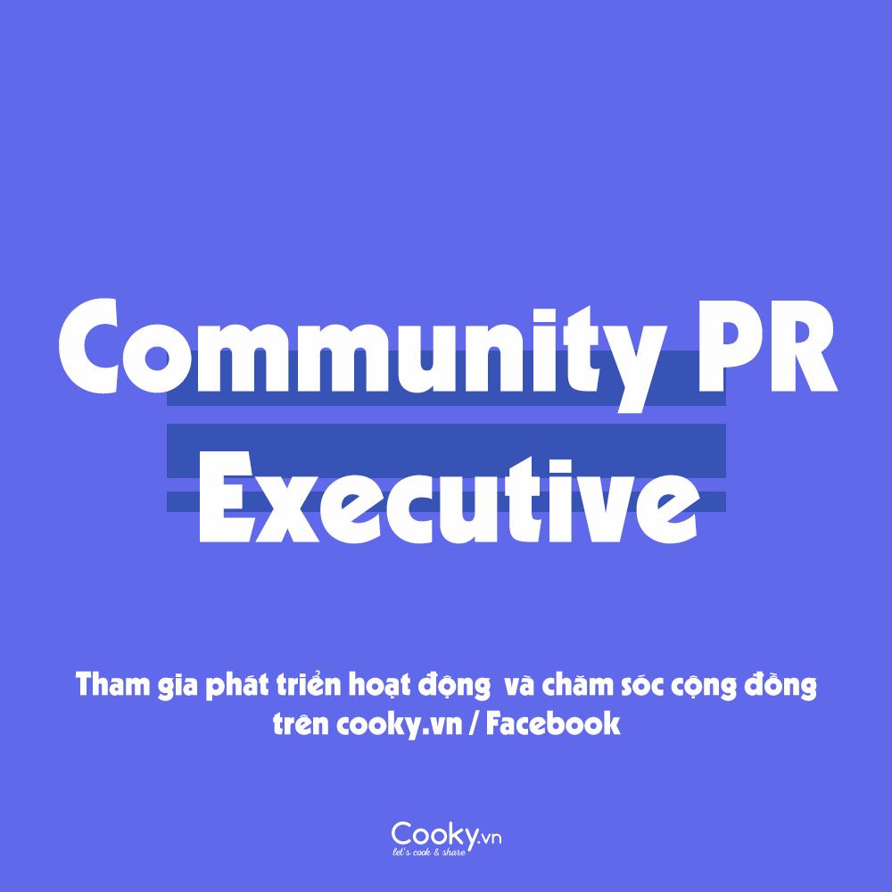 Community PR Executive