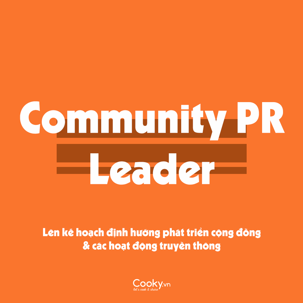 Community PR Leader