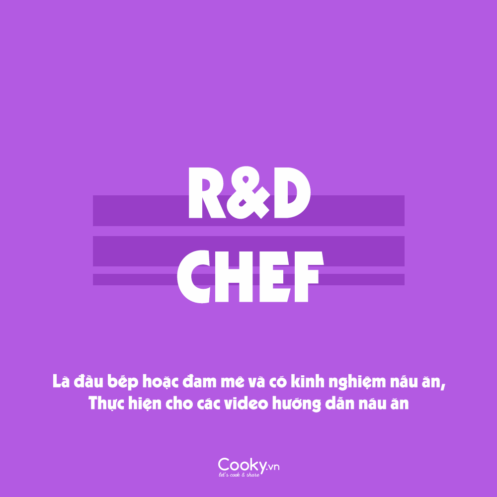 R&D Chef
