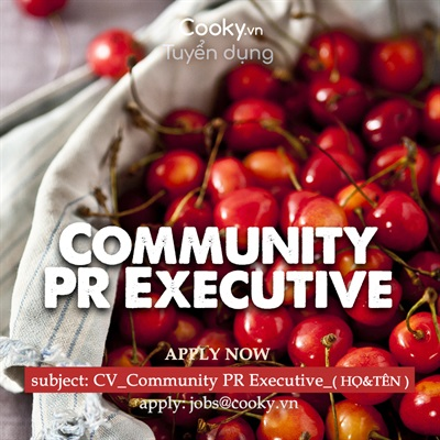 Community PR Executive